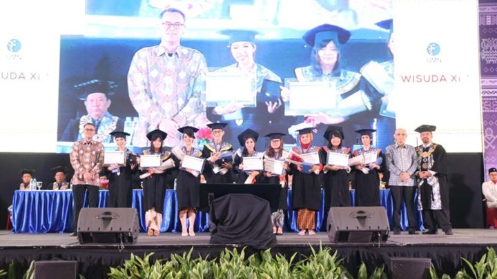 wisuda XIV Universitas Multimedia Nusantara
